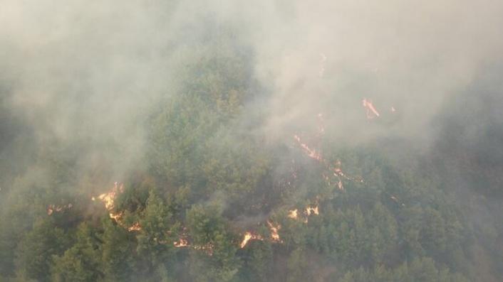 Hatay'da Yangın Söndürülemiyor: Bir Köy Daha Boşaltıldı