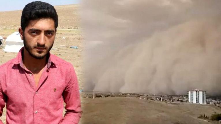 Kum Fırtınasına Yakalanan İşçi Yaşadıklarını Anlattı