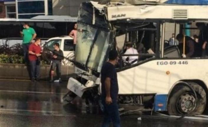 Ankara'da Belediye Otobüsü Kaza Yaptı: Çok Sayıda Yaralı Var!