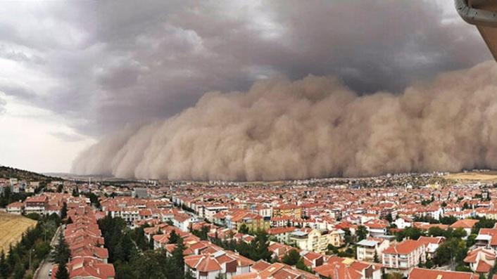 Ankara'daki Kum Fırtınasının Nedeni Belli Oldu