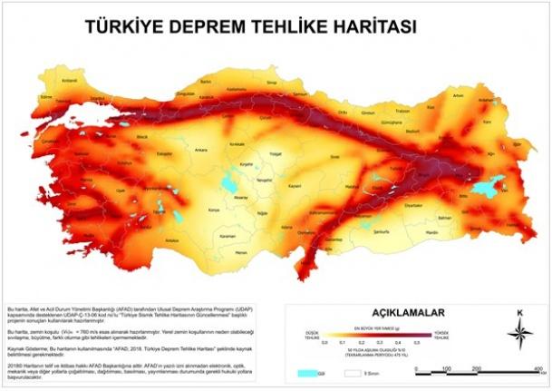 Ankara'nın Deprem Haritası: İşte İlçe İlçe Ankara'nın Deprem Riski!
