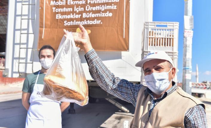 Halk Ekmek Mobil Ekmek Fırını ile Başkent Yollarında