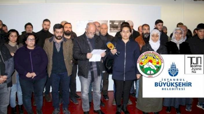 İBB Tiyatro Sahnesini PKK'nın Tiyatro Grubuna Açtı!