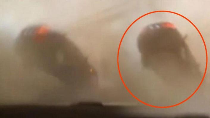 İskenderun'da İnanılmaz Görüntüler: Hortum Çıktı, Otomobil Havaya Yükseldi!
