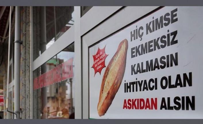 MHP 'Askıda Ekmek' Kampanyası Başlattı
