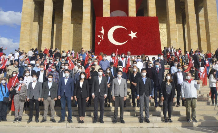 TGB: Cumhuriyetimizin 97. Yılında Geleceğimiz Mavi Vatanda