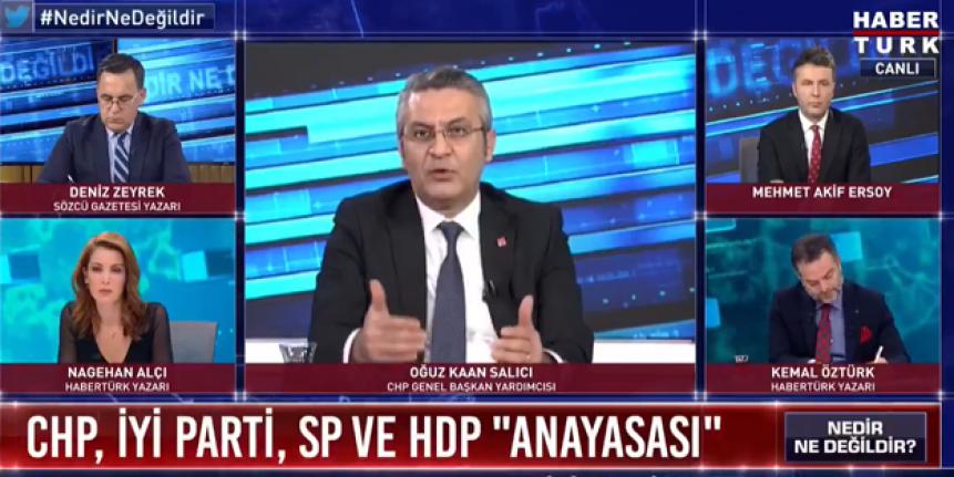 CHP'li O İsim HDP ile Anayasa Çalışmasına Yeşil Işık Yaktı!