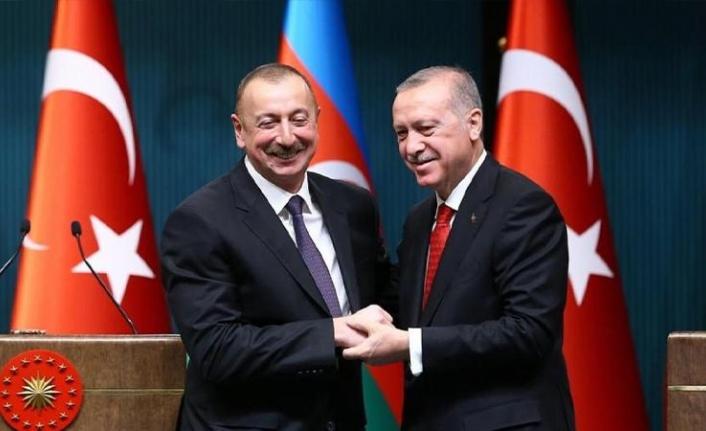 Erdoğan ile Aliyev görüştü