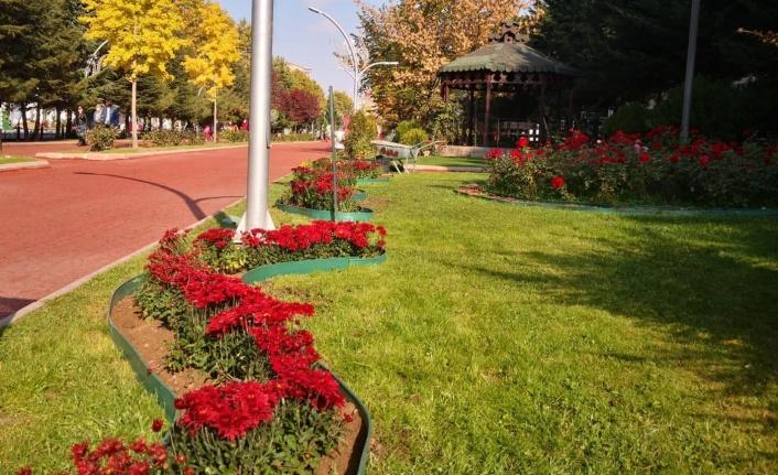 Keçiören'in Parkları Rengarenk