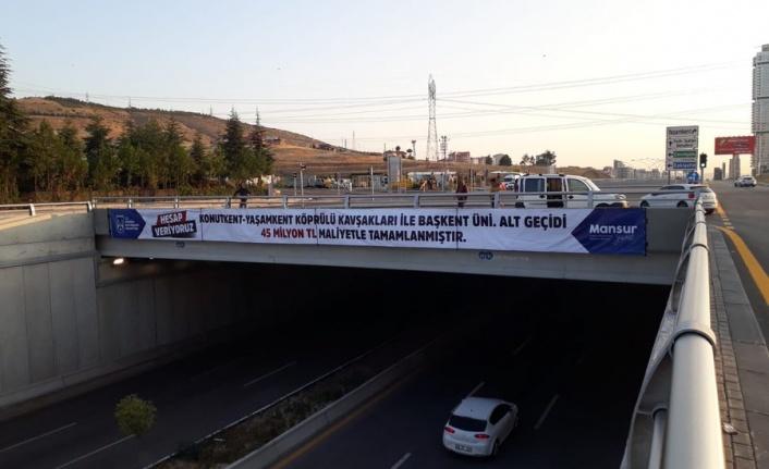 Mansur Yavaş Projelerin Maliyetini Böyle Açıkladı
