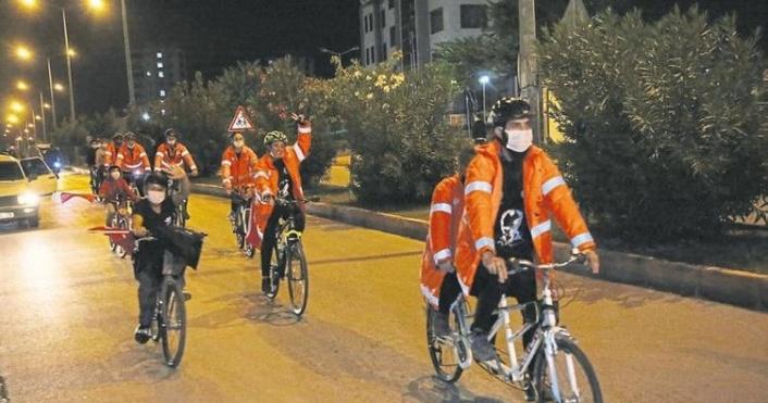 Mersin'den Ankara'ya Ata'ya Saygı İçin Pedal Çevirecekler