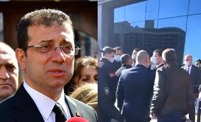 Taksiciler 'Yuh'ladı, Ekrem İmamoğlu Taksicilerin Üstüne Yürüdü!