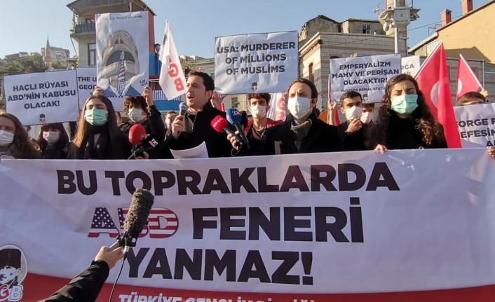 TGB'den Pompeo Protestosu: Bu Topraklarda ABD'nin Feneri Yanmaz!