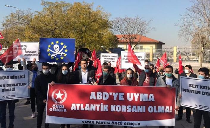 Vatan Partili Gençler, Türk Gemisine Yapılan Korsan Baskına Teki Gösterdi