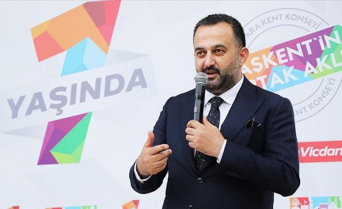 Ankara Kent Konseyi Başkanı Halil İbrahim Yılmaz'dan 2021 Mesajı