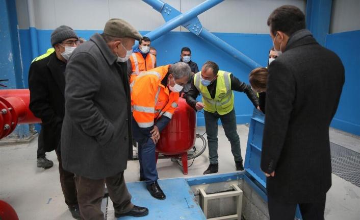 ASKİ'nin çalışmaları sonucunda Temelli' de su sorunu sona erdi