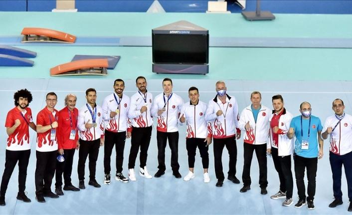 Avrupa Şampiyonası'nda Milli Cimnastikçiler 8 Madalya Kazandı