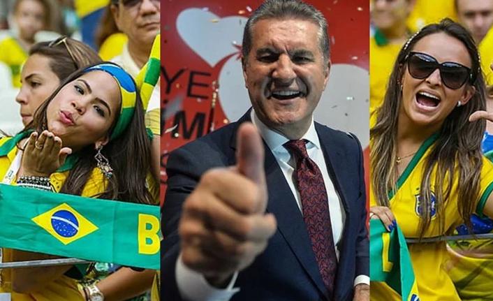 Brezilyalı Güzeller Mustafa Sarıgül'ü Tercih Etti