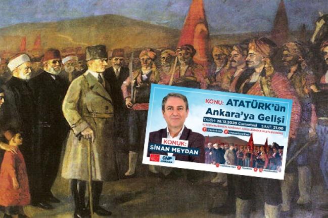 CHP Ankara'dan Atatürk'ün Ankara'ya Gelişinin Yıl Dönümünde Canlı Söyleşi