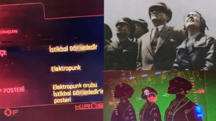 Dünyaca Ünlü Oyun Cyberpunk 2077'de Atatürk Skandalı! Özür Dilediler...