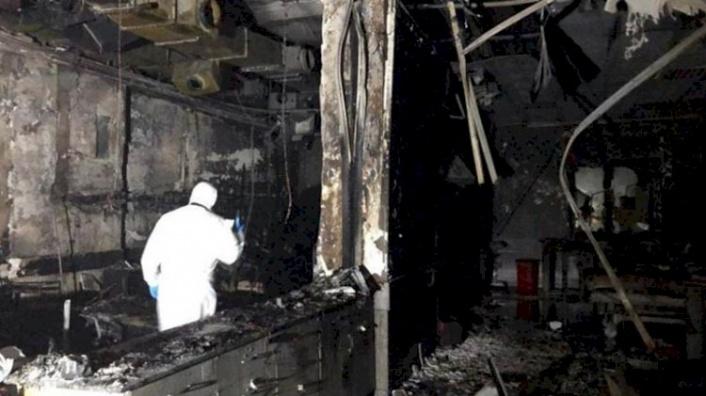 Gaziantep'teki Korkunç Yangına Dair Hemşirelerin İfadeleri Ortaya Çıktı