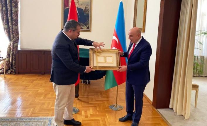 Keçiören Belediyesi'nden Azerbaycan Zaferini Tebrik Ziyareti