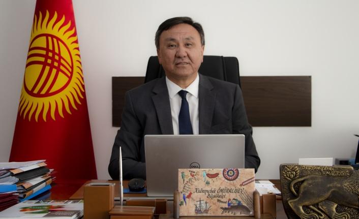 Kırgızistan Ankara Büyükelçisi'nden Kazakistan'a Bağımsızlık Günü Mesajı