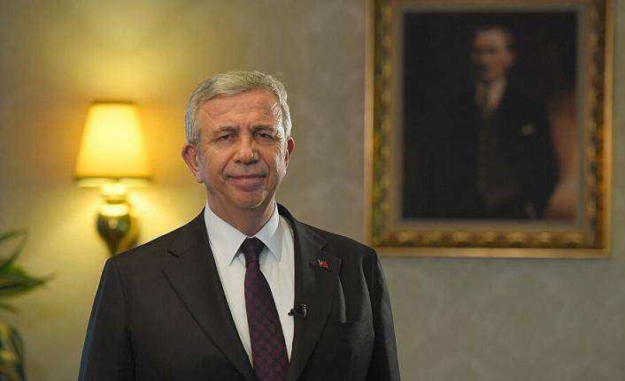 Ankara Büyükşehir Belediye Başkanı Mansur Yavaş'tan Yeni Yıl Mesajı