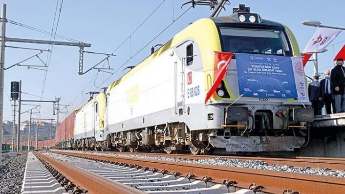 Türkiye'den Çin'e Giden İlk İhracat Treni Yolculuğunu Tamamladı
