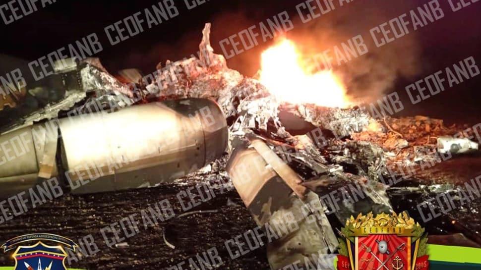 Venezuela Ordusu ABD'nin Uçağını Düşürdü