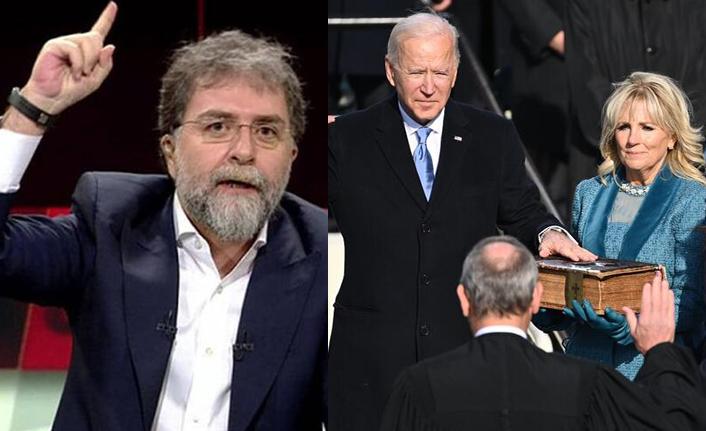 Ahmet Hakan: Biden İncil'e El Basınca Kimse Nerede Laiklik Demedi!