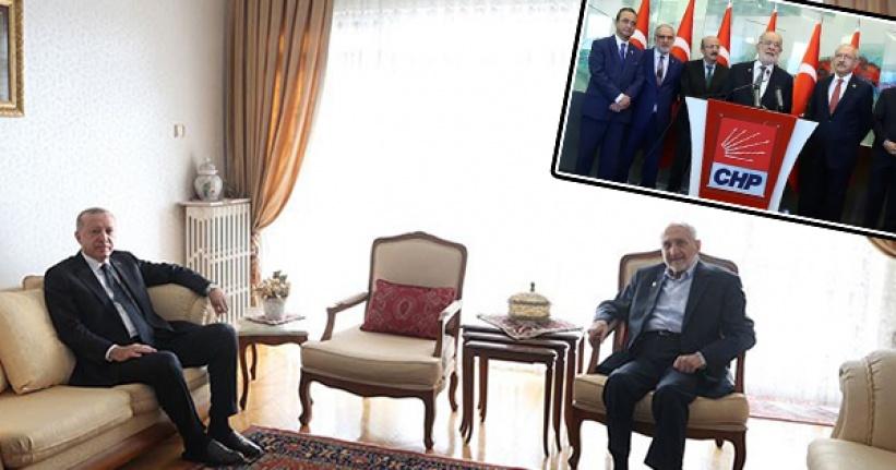 Ahmet Hakan Çok Konuşulan Ziyareti Yazdı: Saadet Partisi Gitti Gidiyor Gibi