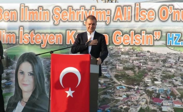 AK Parti Sözcüsü Ömer Çelik: Alevileri Türkiye'den Koparma Faaliyeti