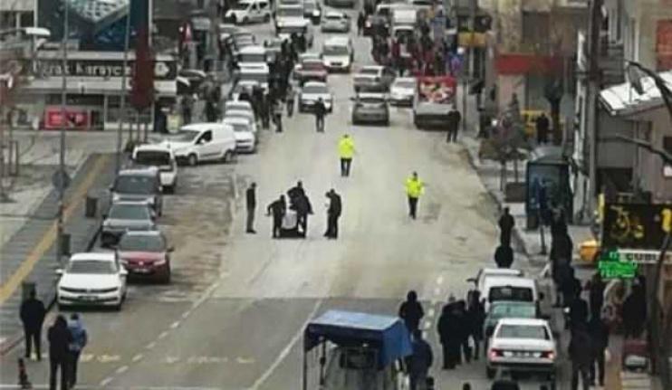 Ankara Çubuk'ta Cadde Ortasında Pompalı Tüfek Dehşeti!