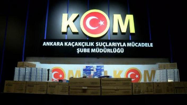 Ankara'da Kaçak Diş Macunu Operasyonu