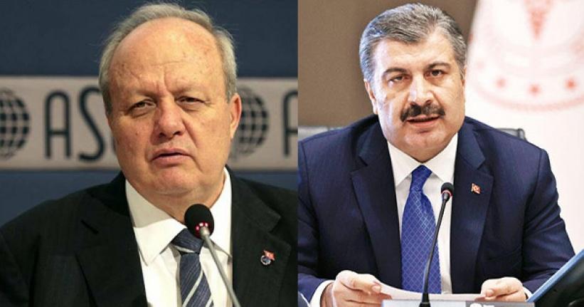 ASO Başkanı Nurettin Özdebir'den Fahrettin Koca'ya Çağrı
