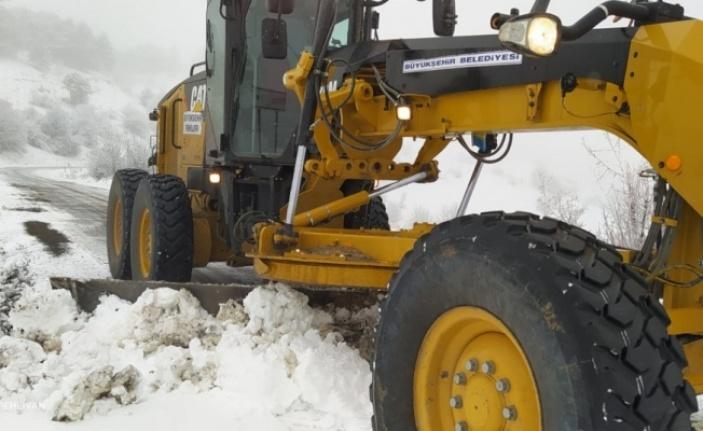 Beypazarı Beyaza Büründü: İşte Kar Görüntüleri