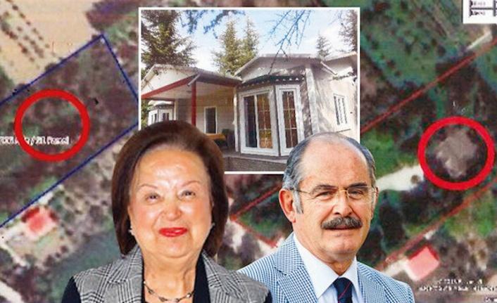 Büyükerşen'den Eşinin Kaçak Villasına 'İmar Barışı'