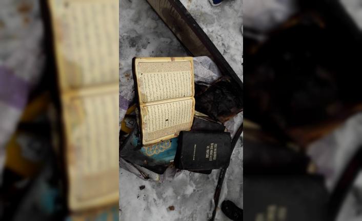 Camide Yangın Çıktı: Kuran-ı Kerim Yanmadı