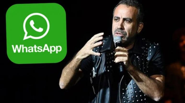 Haluk Levent WhatsApp'a Açtı Ağzını Yumdu Gözünü!