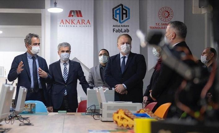 MEB'in İlk Açık Erişimli Atölyesi Ankara'da Kuruldu