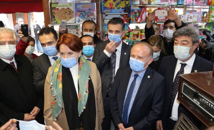 Meral Akşener ve Yetkin Öztürk'ten Ankara Çıkarması