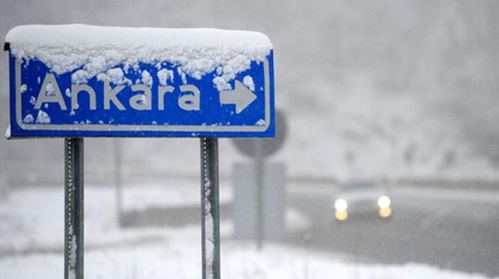 Meteoroloji'den Flaş Açıklama: Ankara'ya Kar Geliyor