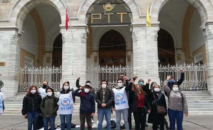 PTT Çalışanları Ankara Yolunda!