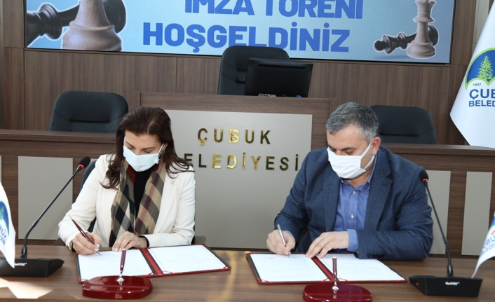 6. Uluslararası Açık Satranç Turnuvası'nın Protokolü Ankara'da İmzalandı