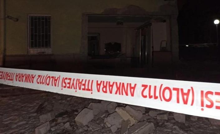 Ankara'da Korkutan Patlama: Mahalle Ayağa Kalktı!