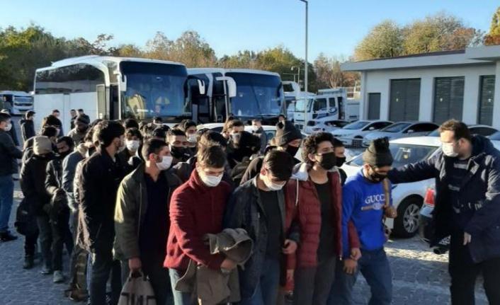 Ankara'da 35 Düzensiz Göçmen Yakalandı