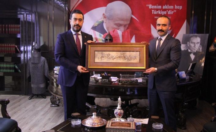 Ankara'da Cumhur İttifakı Buluştu: Hakan Han Özcan'dan Turgay Baştuğ'a Ziyaret