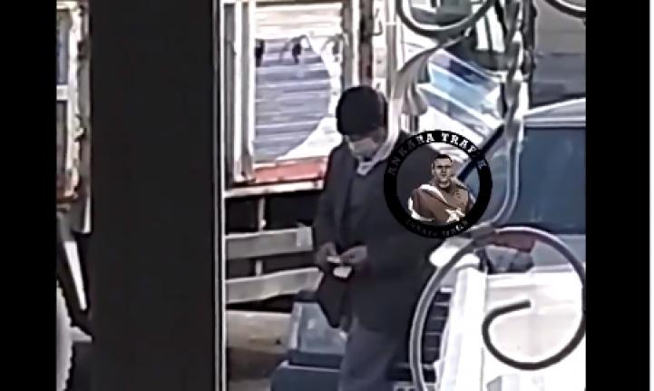 Ankara'da Dilenci Paraları Sayarken Kameralara Yakalandı!