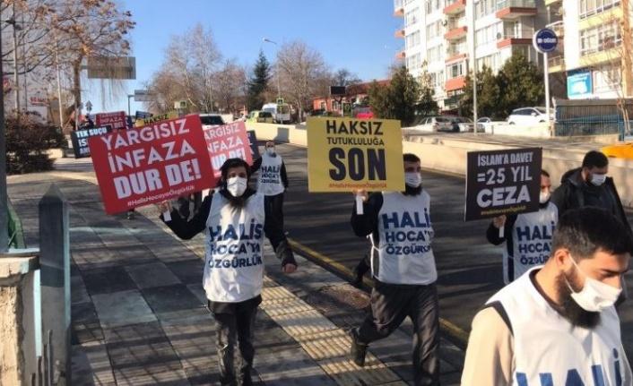 Ankara'da Ebu Hanzala Protestosuna Polis Göz Açtırmadı